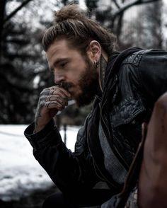 Stylish Beards, Sexy Tattooed Men, Tattoo You, Male Tattoo, Braveheart, Great Shots, Bearded Men, My Boys, Tattoos For Guys