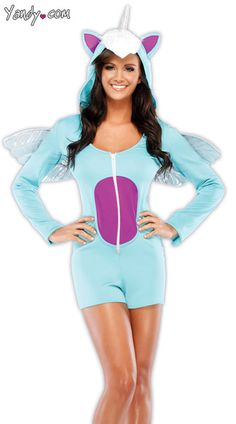 Magical Unicorn Fancy Dress Costume by Coquette - Cute Furry fancy dress costumes – # fluffy Easy Costumes, Sexy Halloween Costumes, Costumes For Women, Cosplay Costumes, Halloween 2016, Disney Costumes, Christmas Costumes, Halloween Ideas, Costume Ideas