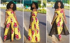 The Fashionable Ankara Styles Ankara is consistently a bolt that is a contentment to accept as African Print Dresses, African Prints, African Attire, African Outfits, Ankara Gowns, Kitenge, Ankara Styles, African Fashion, Women's Fashion