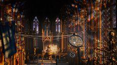 AC Unity - Sainte Chapelle Interior
