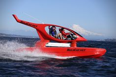 HeliCat 22 Catamaran - this water chopper goes 40+ mph