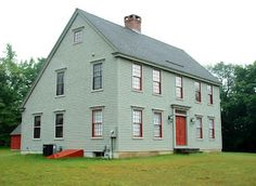 Image W. Owens Image Classic Colonial Homes Image W. Owens Image Connor Homes Image W. Owens Image Classic Colonial Homes. Colonial House Exteriors, Colonial Exterior, Colonial Style Homes, Early American Homes, American Houses, Primitive Homes, Saltbox Houses, Old Houses, Gray Houses