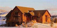 Taunya Fagan Bozeman Luxury Timber-frame Home.