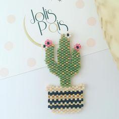 Pearler Bead Patterns, Bead Embroidery Patterns, Bead Embroidery Jewelry, Peyote Patterns, Beaded Embroidery, Beading Patterns, Beaded Brooch, Crochet Earrings, Miyuki Beads