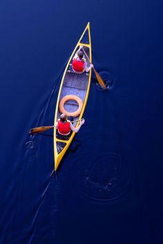 Canoeing..