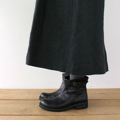 [エンベロープオンラインショップ]MUKAVAショートブーツ