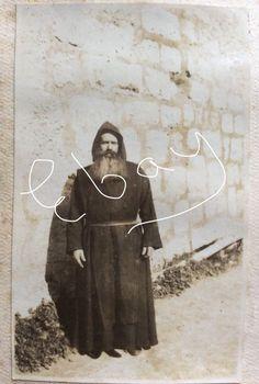 1917 Palestine Kuriat el Enab Monk original photograph  | eBay