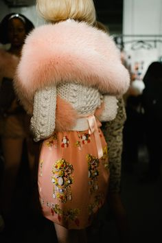peachy fur