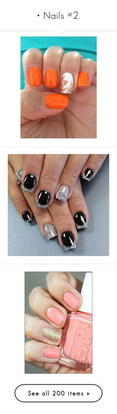 """• Nails #2."" by krys30rose ❤ liked on Polyvore featuring beauty products, nail care, nail polish, nails, 37. nail polish., shiny nail polish, makeup, beauty, unhas and nail treatments"