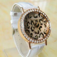 FW-4065  WoMaGe Women Rhinestone Quartz Leopard watches #watch #wristwatch #womenwatch #girlswatch #quartzwatch #rhinestone #fashion #famousbrand #brandwatch #watchfashion #brand #famous