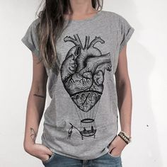 Image result for heart and lungs shirt design