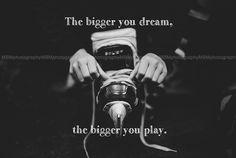 Dream Big - Hockey Print