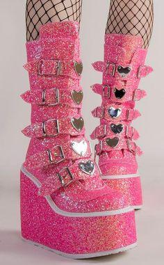 Dr Shoes, Goth Shoes, Me Too Shoes, Kawaii Shoes, Kawaii Clothes, Botas Goth, Pastell Goth Outfits, Alternative Shoes, Mode Kawaii