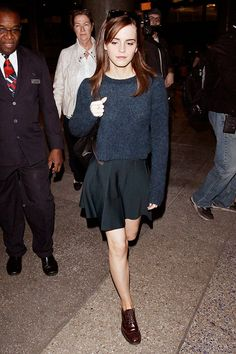 13+Celebrity+Airport+Looks+To+Inspire+Your+Spring+Travel+Wardrobe+via+@WhoWhatWear