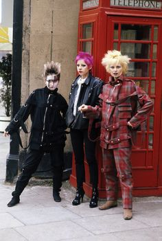 UK Punk Girl | ... and Jordan Lwith other Punk girl in Punk Attire. London 1977