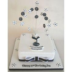 Tottenham Hotspur Birthday Cake