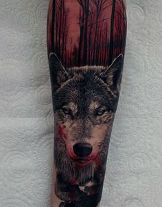 70 Red Ink Tattoo Designs For Men