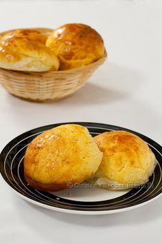 Pineapple Bun, Bo Luo Bao 菠蘿包 by Christine's Recipes
