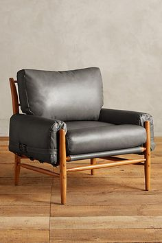 Leather Rhys Chair - anthropologie.com