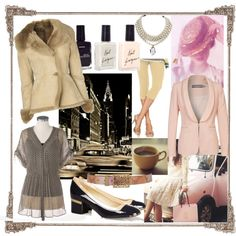 """My Pink Taxi"" by shelger21 on Polyvore"