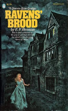 Scarce Raven's Brood by E. Benson Published by Popular Library, 1961 Horror Fiction, Horror Books, Pulp Fiction, Archie Comics, Gothic Books, Vintage Gothic, Gothic Horror, Cinema, Weird Stories