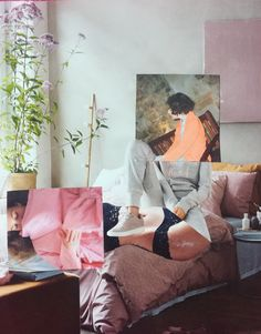 Paper Collage Art, Collages, Pride, Bedroom Decor, The Originals, Check, Shop, Handmade, Etsy
