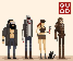 Pixel Art on Behance