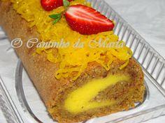 O Cantinho da Marta: Torta de Amêndoa