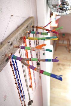 Rebeccas DIY: DIY: Smyckeshängare * Jewelry Board