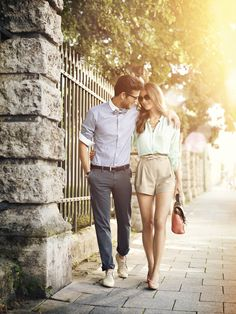 What to wear: engagement outfit ideas classy couple, stylish couple, perfect couple, Couple Chic, Classy Couple, Stylish Couple, Perfect Couple, Couple Style, Love Couple, Couple Outfits, Casual Outfits, Summer Outfits