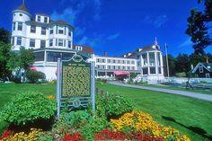 | Greetings from Mackinac Island, Michigan( Island House Hotel)