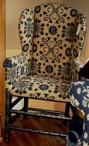 Colonial Wingback Sofas Versace Via Gesu Sofa Price 40 Best Primitive Style Wing Back S And More The Quartermaster General Make Do Chair