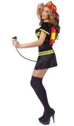 Costume de Pam la Pompier Brûlante