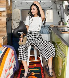 3de19472ce40 Plaid Overall Pants Overall Skirt
