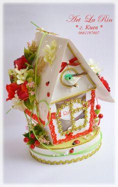 Gallery.ru / Пасхальные  рафаэльные домики - Домики из конфет - larin-dobro