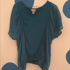 Top with sheer sides Top with sheer sides and sleeves. Tops Blouses