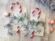 Holiday Joy Pocket Tags by Danielle Flanders for Papertrey Ink (October 2014)