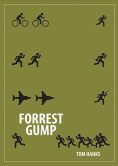 10 filmes para conhecer o cinema de Steven Spielberg. Poster do filme Forrest Gump. Best Movie Posters, Minimal Movie Posters, Minimal Poster, The Godfather, Everything Film, Cinema Tv, Movie Prints, Alternative Movie Posters, Film Serie