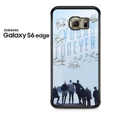 Bts Epilogue Young Forever Signatures Copy Samsung Galaxy S6 Edge Case