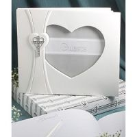 Cross and heart design guest book from the Love and Faith Collection  http://aromaroma.co.uk/shop/article_2429wf/2429---Cross-and-heart-design-guest-book-from-the-Love-and-Faith-Collection.html?shop_param=cid%3D124%26aid%3D2429wf%26