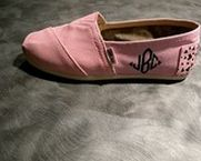 monogrammed toms!!  Definitely want some of these for me and my daughter!!