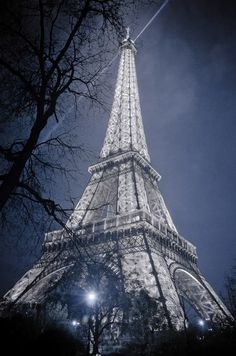"Photo: Beautiful Night in Paris ""City of Love and Peace""  BREATHTAKING VIEW OF EIFFEL TOWER We travel for romance, we travel for architecture and we travel to be lost. Another one of my favorite travel photographs, the one and only Eiffel Tower in Paris, France. #europe #city #paris #france #love"