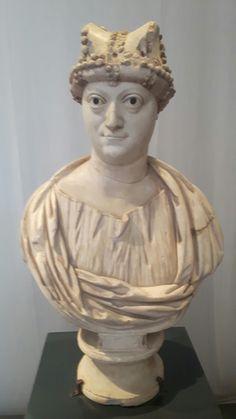 Ritratto  di donna del tipo Ariadne-Amalasunta. Inizi VI sec.  Museo di San Giovanni in Laterano