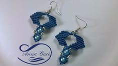 "Tutorial macrame earrings "" Zig zag "" / Diy tutorial"