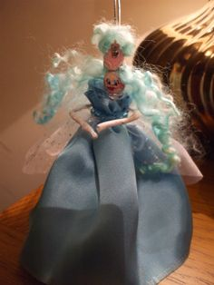 """Princess Pegella"" peg doll  for Laura   26/11/2013"