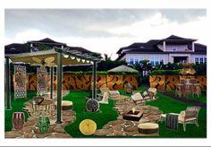 Olioboard Aloha Living.   Hawaiian, Colonial, Zen elements. Green