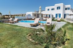 #SocialDistanceTravelling for large families or friends #TravellingToGreece! • A unique opportunity to combine two wonderful recently-built and tastefully interior- and exterior-designed #PrivateCycladicVillas that can accommodate up to 9 people in #ParosGreece. • Both villas boast #DirectSeaViews, each with their own #PrivateGarden, #PrivateSwimmingPool, plenty of #OutdoorSittingAreas to enjoy your meals, coffee, drinks or cocktails, a garden, and #PrivateJacuzzi, both positioned side by… Villa With Private Pool, Private Garden, Exterior Design, Interior And Exterior, Paros Greece, Paros Island, Luxury Villa, Jacuzzi, Outdoor Spaces