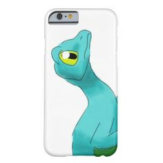 Winged Gecko Barely There iPhone 6 Case  #zazzle #animal #watercolor #glider #teal