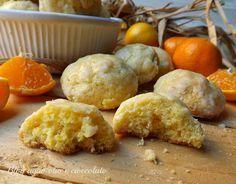 I Biscotti morbidi al mandarino sono dei deliziosi bocconcini semplicissimi e molto profumati