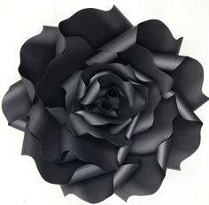 380 best paper flowers images on pinterest in 2018 paper flowers black paper flower rose mightylinksfo